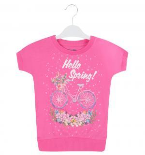 Футболка  Hello Spring, цвет: розовый Free Age