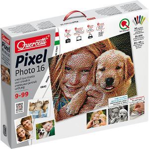 Пиксельная мозаика  Фото, 25200 деталей Quercetti. Цвет: разноцветный