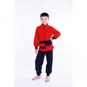 Спортивный костюм  Полоска ЛисФлис. Цвет: красный