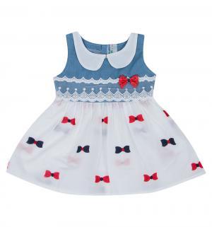 Платье , цвет: белый Малинка