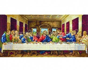 Картина по номерам Тайная вечеря (Леонардо да Винчи) 80х40 Schipper