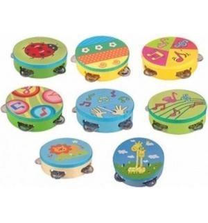 Деревянная игрушка  Бубен Зеленый Мир Деревянных Игрушек