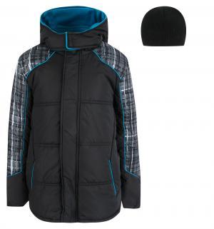 Куртка , цвет: черный/серый iXTREME by Broadway kids