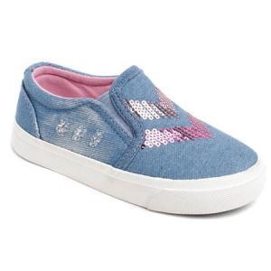 Слипоны , цвет: голубой Tom&Miki