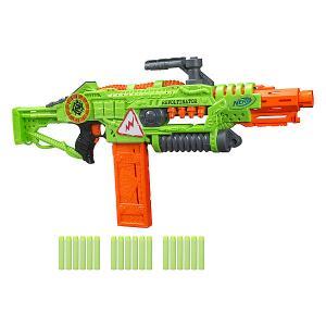Бластер Nerf Zombie Strike Revoltinator Hasbro. Цвет: gelb/grün