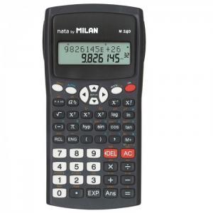 M240 Калькулятор научный 10+2 разрядов 240 функций на батарейках ААА 1095850 Milan