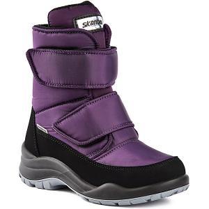 Ботинки  Missy Skandia. Цвет: лиловый