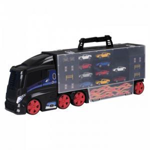 Игровой набор Teamsterz Автоперевозчик с 10 машинками HTI