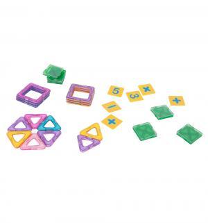 Магнитный конструктор  Магический магнит фиолетово-сиреневый (20 дет.) Tongde