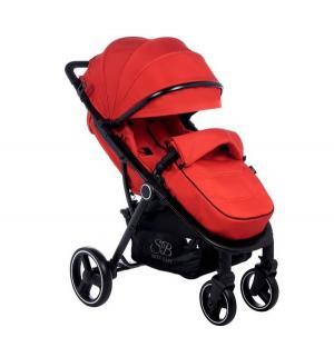 Прогулочная коляска  Suburban Compatto, цвет: red Sweet Baby