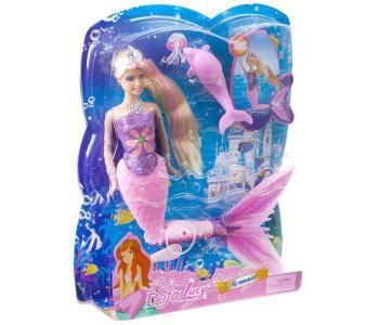 Кукла Lucy Русалка с дельфином Defa
