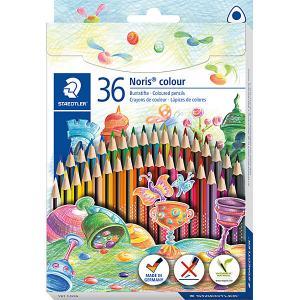 Набор цветных карандашей  «Noris Colour», 36 цветов Staedtler