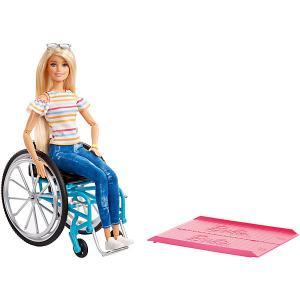 Кукла Barbie в инвалидной коляске Mattel