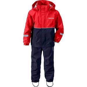 Комплект Didriksons Rusk: куртка и брюки. Цвет: красный