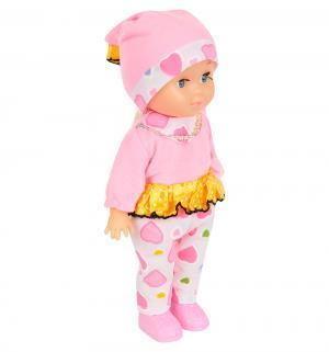 Кукла  в одежде, цвет: розовый 25 см S+S Toys