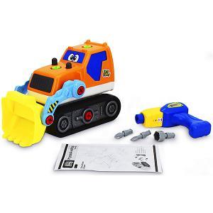 Игровой набор-конструктор  Трактор Bebelot. Цвет: разноцветный