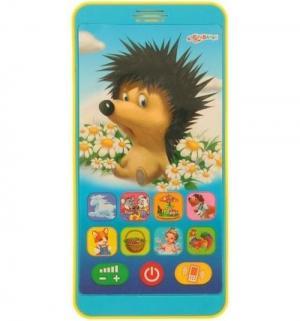 Телефон  Плеер - Мой друг Ежик 13.7 см Азбукварик