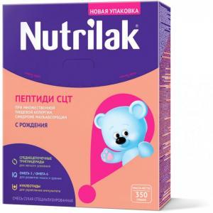 Заменитель Пептиди СЦТ с 0 мес. 350 г Nutrilak