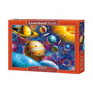 Пазл  Солнечная система, 1000 деталей Castorland