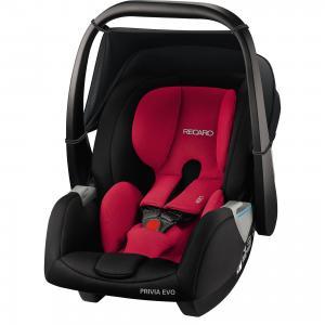 Автокресло Recaro Privia EVO, 0-13 кг., racing red. Цвет: черный/розовый