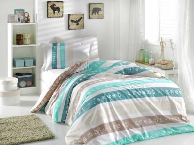 Постельное белье  Sweet Dreams 1.5-спальное Евро (4 предмета) Hobby Home Collection