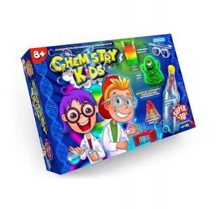 Набор для опытов  10 магических экспериментов Chemistry Kids Danko Toys