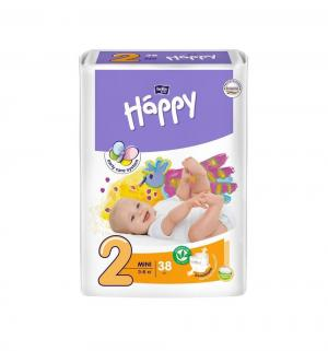 Подгузники  Mini 2 (3-6 кг) 38 шт. Bella Baby Happy