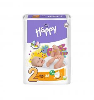 Подгузники  Mini 2 (3-6 кг) 38 шт. Bella Baby Happy