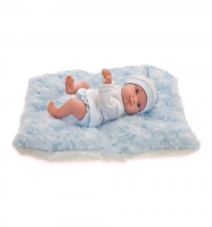 Кукла  Пепита на голубом одеялке 21 см Juan Antonio