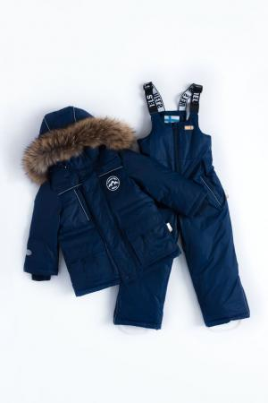 Комплект куртка/полукомбинезон  Pekka, цвет: синий Nels