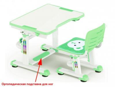 Комплект парта и стульчик BD-09 Teddy (столешница белая) Mealux
