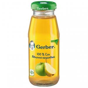 Сок  яблоко-груша, 175 мл Gerber