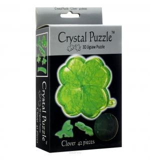 Головоломка 3D  Клевер цвет: зеленый Crystal Puzzle