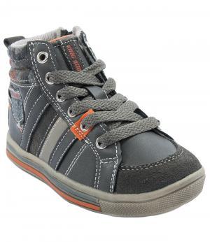 Ботинки для мальчика (коричневые) King Boots. Цвет: коричневый