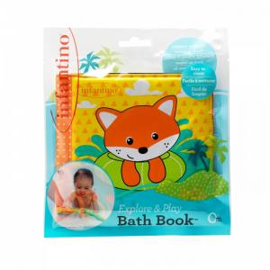 Мягкая книжка для ванны Infantino