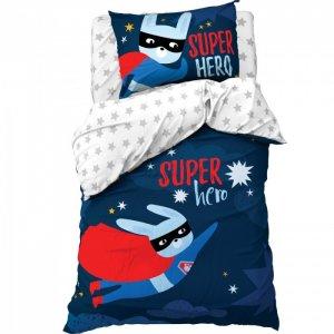 Постельное белье  1.5 спальное Super hero (3 предмета) Этель