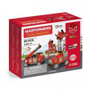 Конструктор  Магнитный Amazing Rescue Set (50 элементов) Magformers