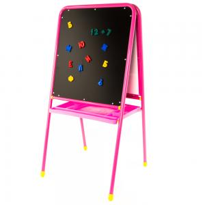 Мольберт  Универсальный мду.06, цвет: розовый Дэми