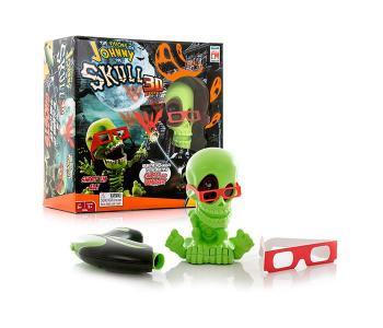 Интерактивная игрушка  Тир проекционный 3D Джонни-Черепок с 1 бластером Johnny the Skull