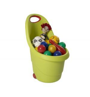 Корзина для игрушек  цвет: зеленый Keter