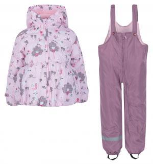 Комплект куртка/полукомбинезон , цвет: розовый Bony Kids