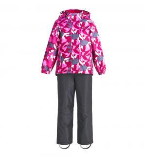 Комплект куртка/брюки  Сахарный клен, цвет: розовый Premont
