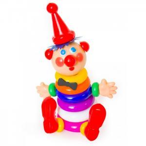 Развивающая игрушка  Пирамида Клоун 13202 Пластмастер