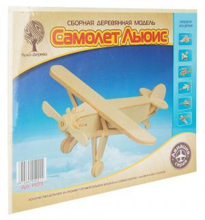 Деревянный конструктор  Самолет Льюис 2 Wooden Toys