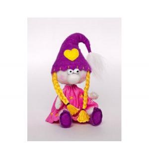 Набор для создания текстильной игрушки  Гномики Гномочка Перловка