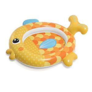 Надувной бассейт  Золотая рыбка, 140 х 124 34 см Intex
