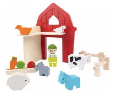 Набор Ферма Plan Toys