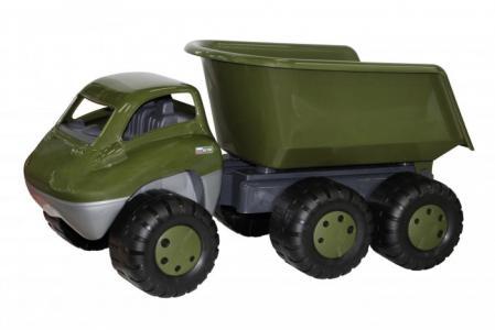 Дакар автомобиль-самосвал военный с прицепом Cavallino