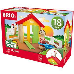 Игровой набор Brio Мой родной дом Курятник