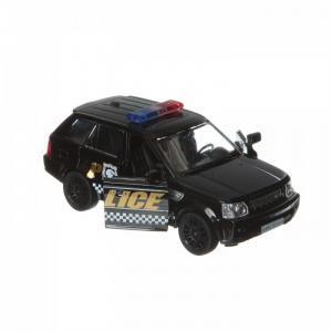 Металлическая инерционная модель М1:32 Land Rover Range Sport-полиция 554007P RMZ City